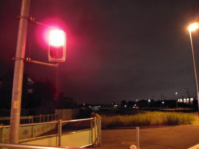 夢の橋から見える交差点にて