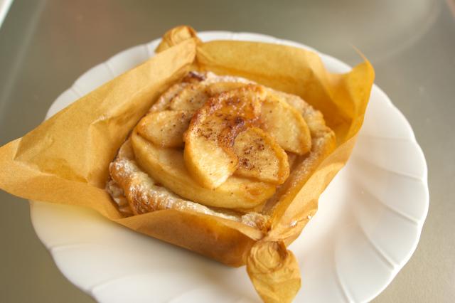 ア・ポワン -090222- リンゴのパイ.jpg