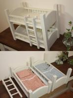 2段ベッドのドールベッド