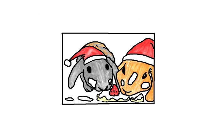 楽しいクリスマス・・・