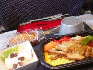 機内食 行き