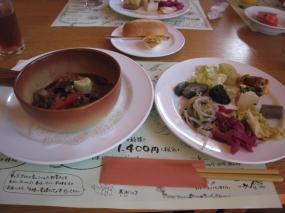 ビーフシチュー&お野菜のお惣菜