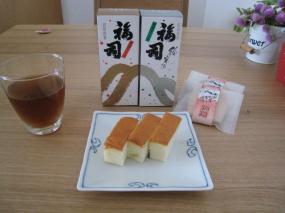 日本酒ケーキ&もなかクッキー