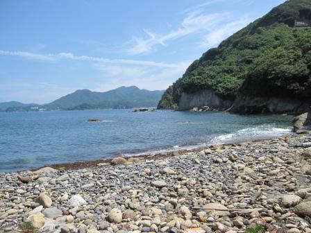 穴場の海岸