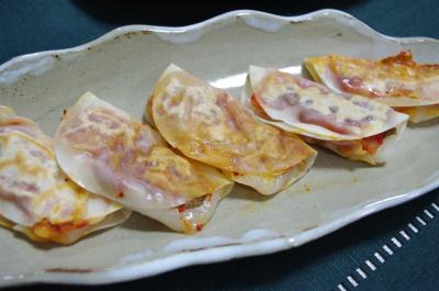 もちキムチ餃子