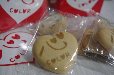 心colorクッキー