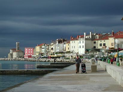 スロベニアの港町 ピラン
