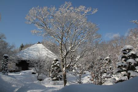 平家の里の冬
