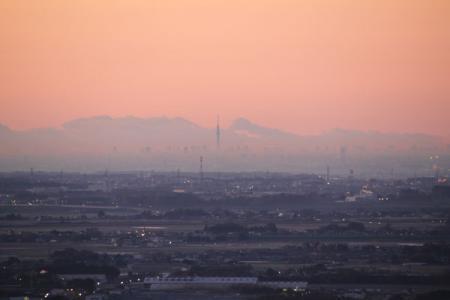 太平山の初冬