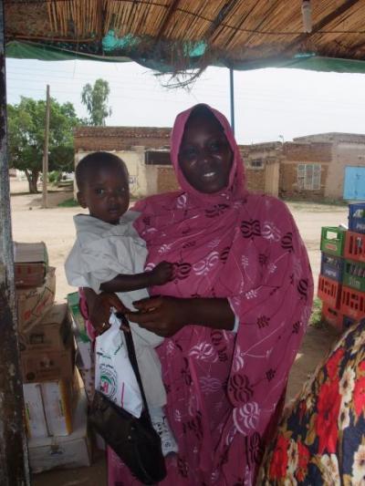 スーダン母子