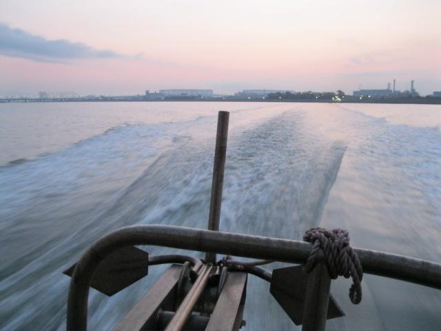 武庫川渡船だよん♪