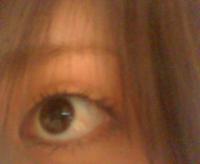 なんか片目