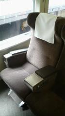 グリーン車 座席