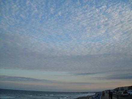 茨城の海と空