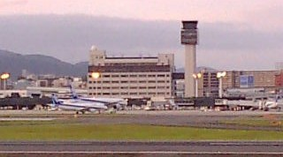 伊丹空港です
