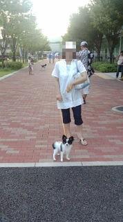 ママとお散歩です♪