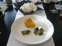 かぼちゃのチーズケーキ・濃い目にしてみました♪