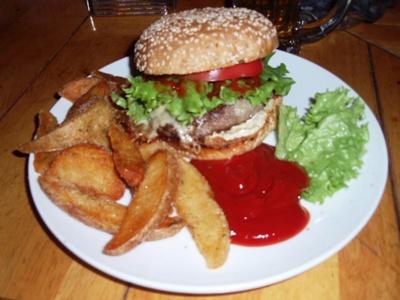 キャプカン特製ハンバーガー