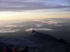 山頂から見下ろす
