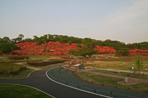 2009.5.1 165長峰公園夕方