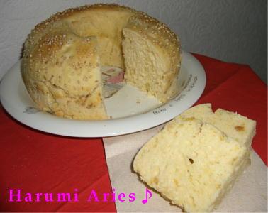 さつま芋オレンジパン