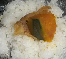 かぼちゃ豚肉