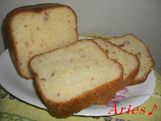 ほりほりハム・チーズパン2