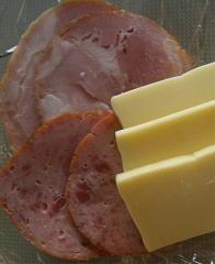 ほりほりハム・チーズ1