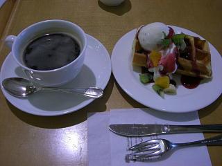 フルーツワッフルセット・ヤマトヤシキ1