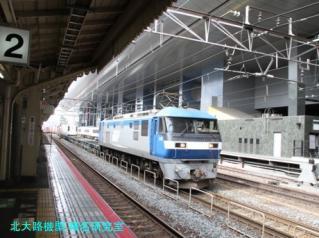 京都駅でトワイライトを待っている間に 1