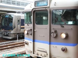 京都駅白昼の寝台特急 1