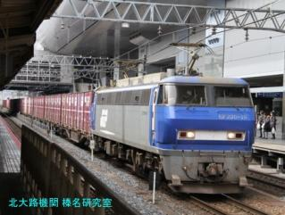 京都駅鶯色と若草色 3