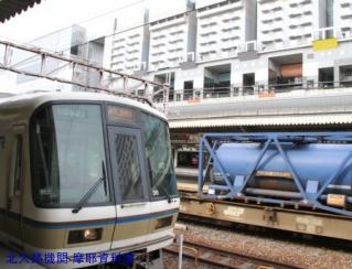 京都駅にEF-510やってきた 7