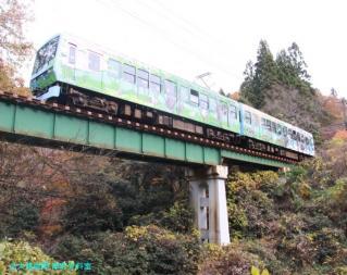 叡山電鉄 見上げて登山 1