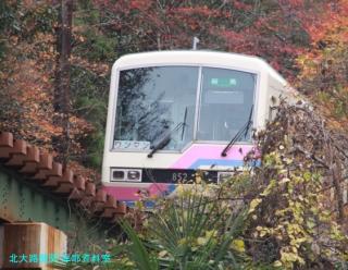 叡山電鉄 見上げて登山 3