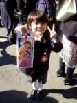 081113 幼稚園で七五三ぉ祝ぃ式 ユウヤ