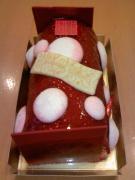 フォションのクリスマスケーキ