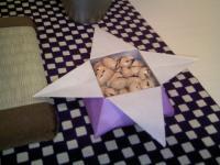 節分・折り紙の豆いれ