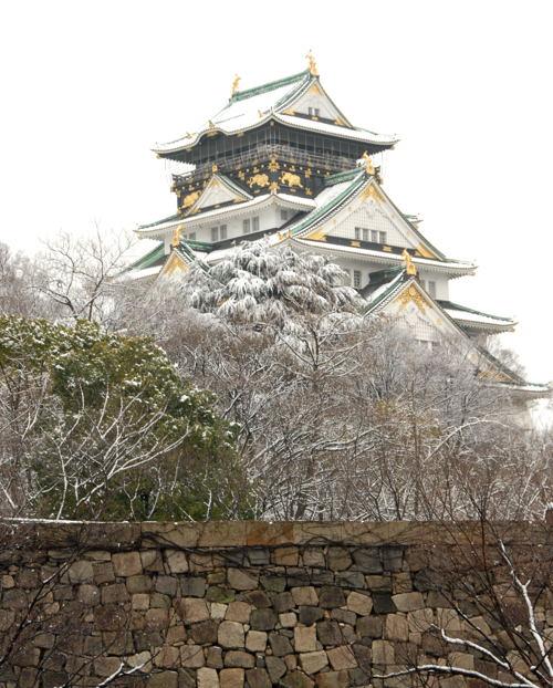 osaka雪景色01
