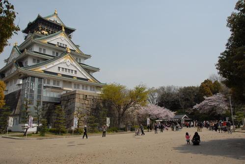 大阪城 桜08