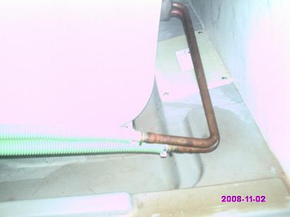 浴室エプロン右側 掃除前