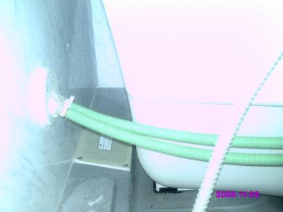 浴室エプロン左側 掃除前