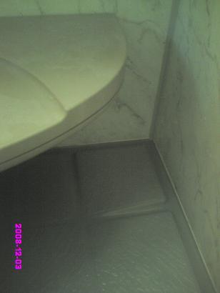 浴室カビ 掃除後2回目