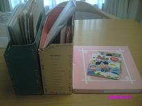 物入れに入っていた幼稚園の書類