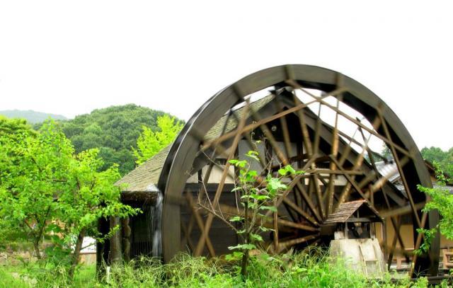 小野小町の里・水車小屋