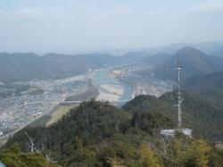 岐阜城より東