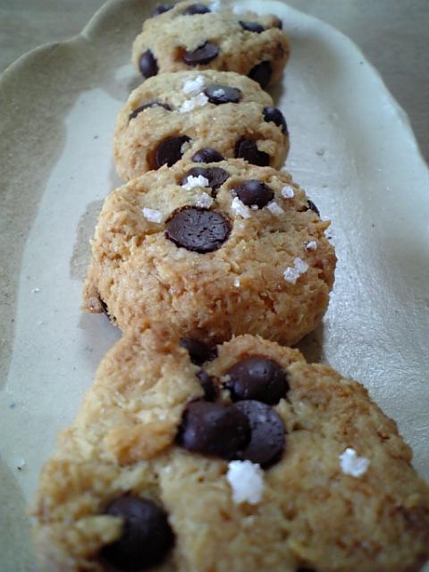 塩チョコチップクッキー