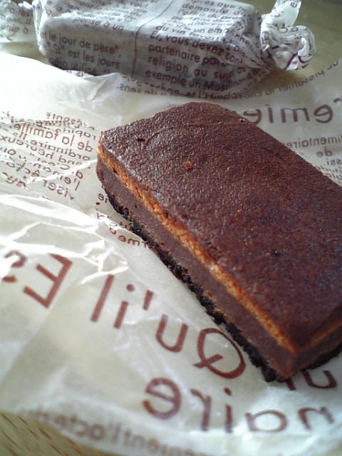 ダブルチョコチーズケエキ