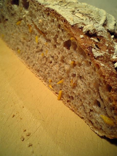 人参と胡桃のライサワーパン