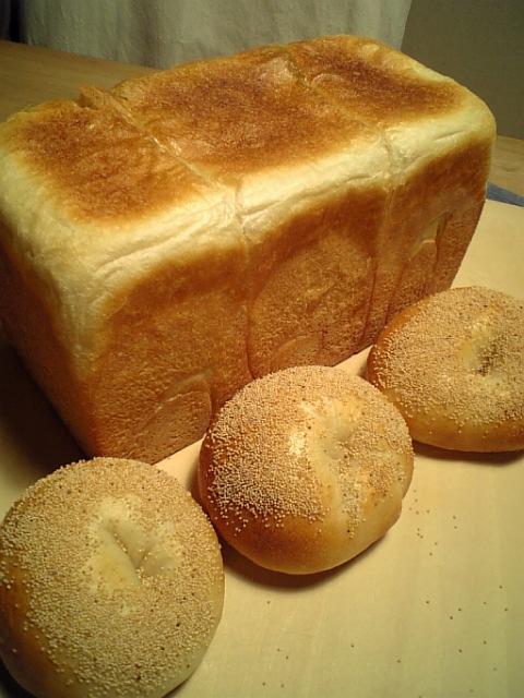 角食パンと仲間達